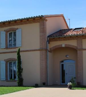 Maison côté entrée