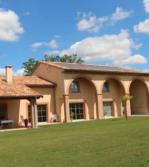 Maison côté terrasse 2