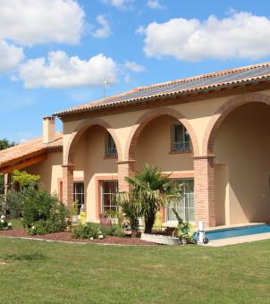 Maison côté terrasse 3
